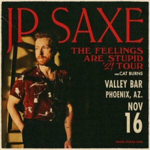 JP Saxe: The Feelings Are Stupid Tour